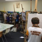 It's easel drawing!