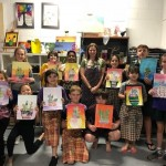 Group kids art classes