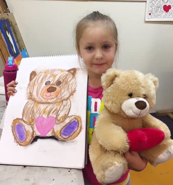 Creative and expressive art therapy Logan