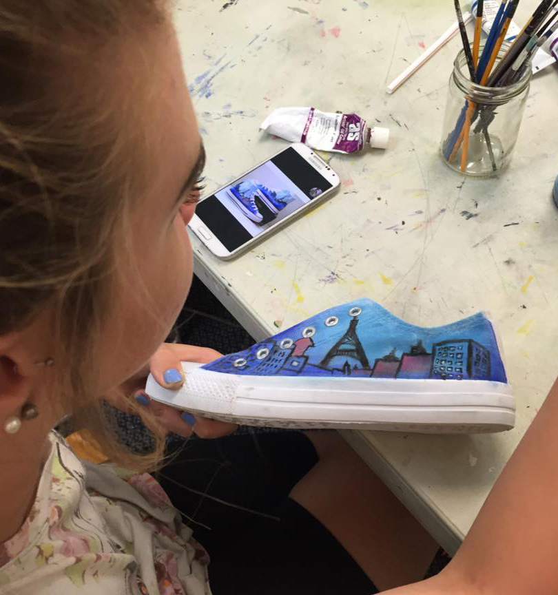 Tammy's art therapy for teens